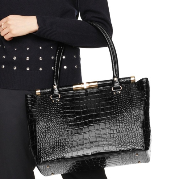kate spade Handbags - SOLD⛔️Authentic Kate Spade embossed leather bag